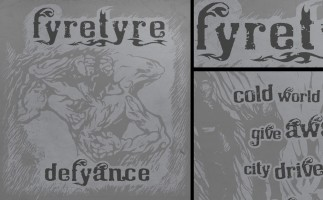 Fyretyre - Defyance EP // CD-Artwork